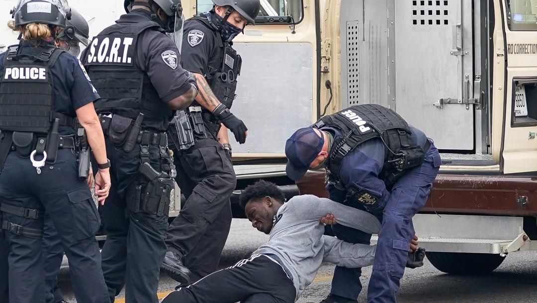 Al menos 46 personas fueron detenidas en las protestas en Louisville