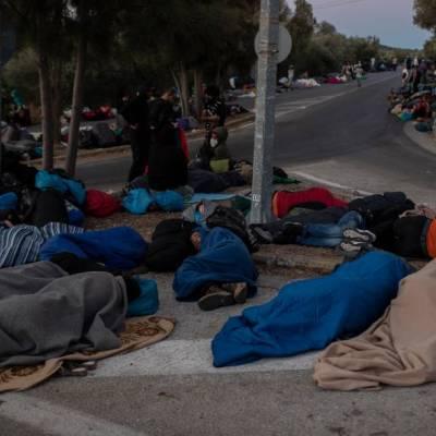 ONU pide solidaridad tras incendio en campamento de refugiados de Moria