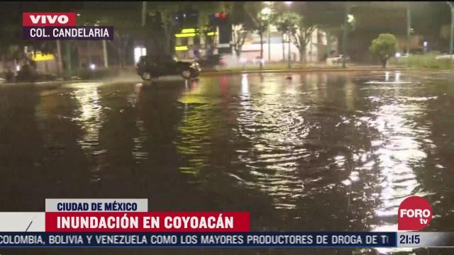 inundacion y caos vial en varias alcaldias de la cdmx