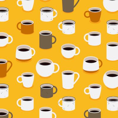 Reto visual: Encuentra las tazas de té, las rotas y las vacías