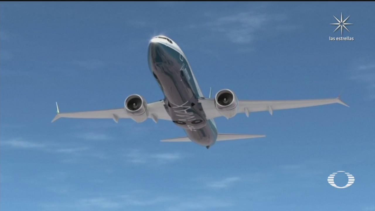 """Accidentes ocurridos con aviones Boeing 737 Max, se debieron a """"supuestos errores técnicos"""""""