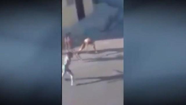 Jóvenes-protagonizan-pelea-campal-en-Monterrey-Nuevo-León