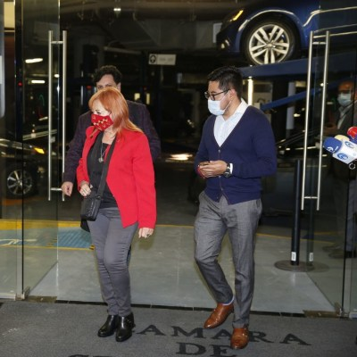 Rosario Piedra, titular de la CNDH, se reúne con senadores; opositores piden su renuncia