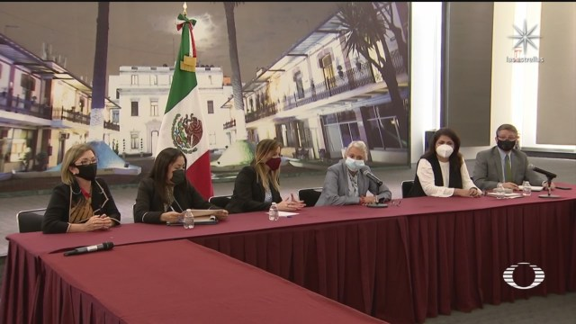 sanchez cordero se reune con madres de victimas y feministas que tomaron la cndh