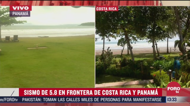 se registra sismo de 5 8 en frontera de costa rica y panama