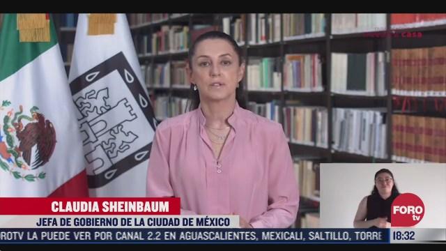 sheinbaum informa que no habra eventos publicos del grito de independencia