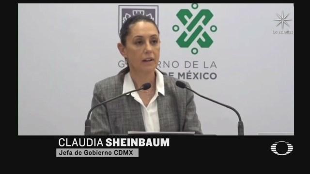 sheinbaum senala a empresaria de estar detras de toma de la cndh