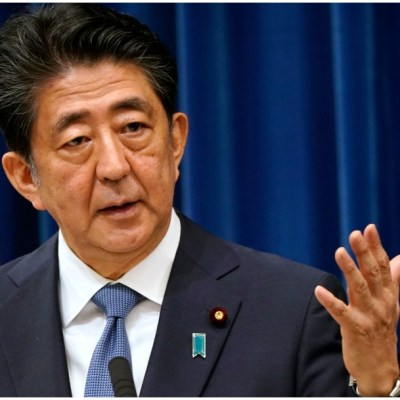 Shinzo Abe oficializa su renuncia como primer ministro de Japón