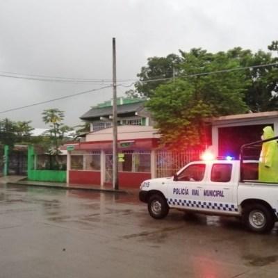 Tormenta en Oaxaca causa encharcamientos en diversos puntos de la zona metropolitana