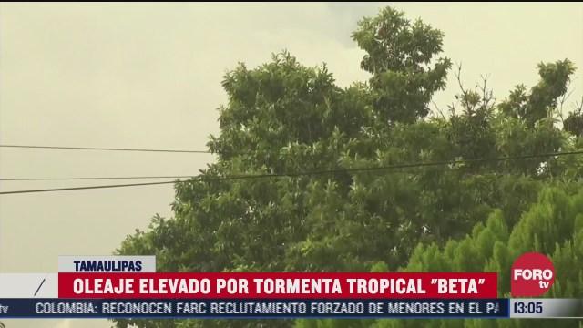 tormenta tropical beta se aleja de tamaulipas