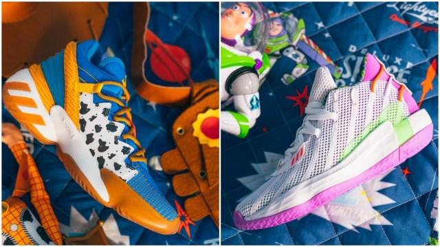Tenis de Toy Story son lanzados por Adidas y Pixar