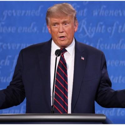 Trump advierte de 'fraude electoral' en noviembre durante debate con Biden