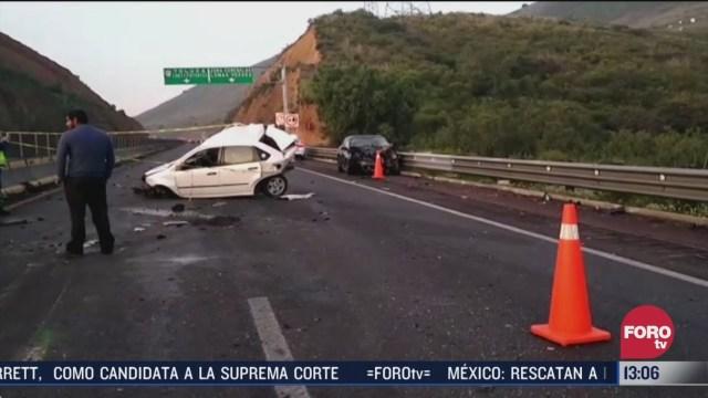 un muerto tras choque en carretera del edomex