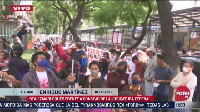 vandalizan instalaciones del cjf por caso ayotzinapa