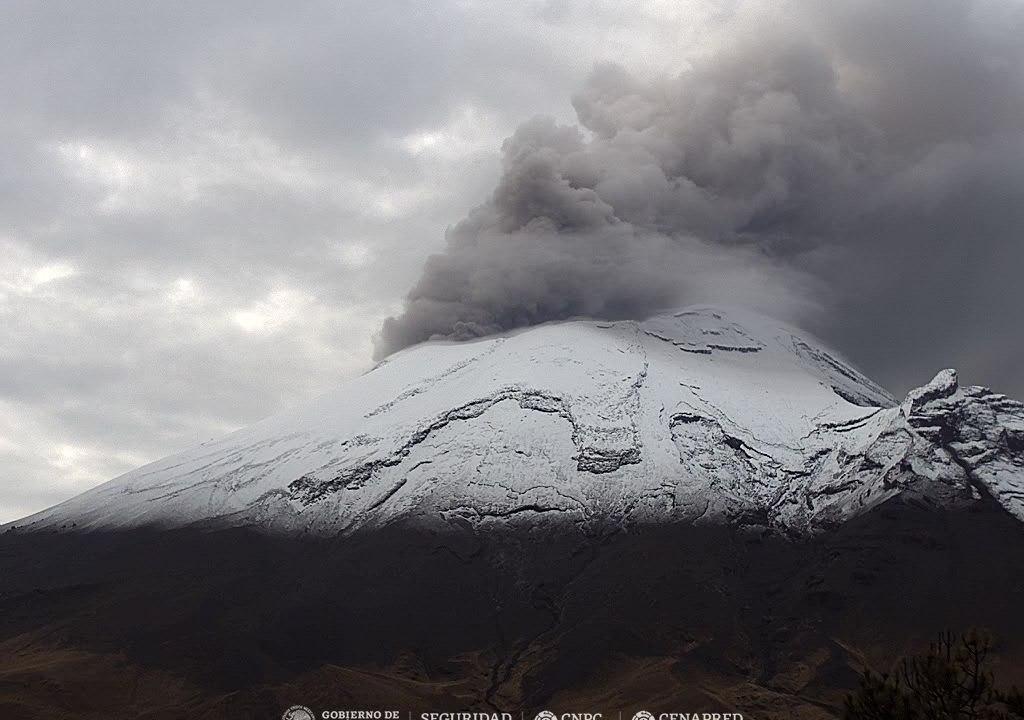 volcan popocatepetl nevado