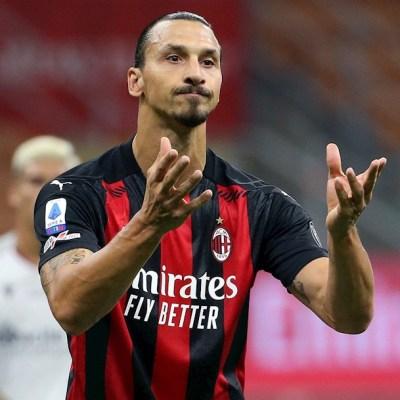 Zlatan Ibrahimovic, delantero del Milán, da positivo a COVID-19