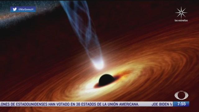 agujero negro devora a estrella