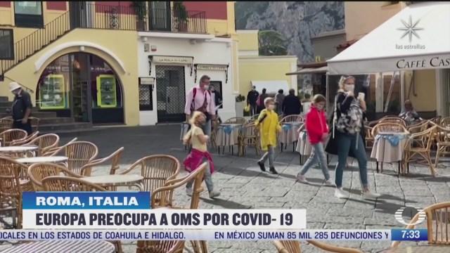 alerta en italia por aumento de casos con covid