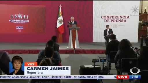 amlo seguira apoyando a tamaulipas pese a diferencias con el gobernador