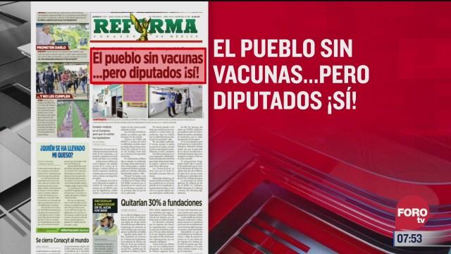 analisis de las portadas nacionales e internacionales del 15 de octubre del