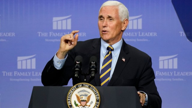 Mike Pence, vicepresidente de Estados Unidos