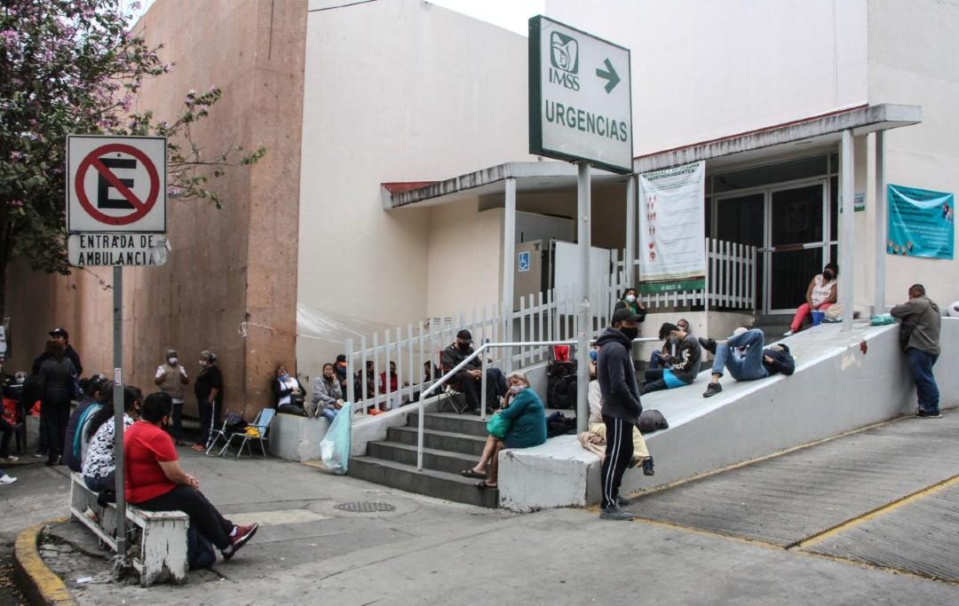 Entrada de Urgencias del Hospital de los Venados en la CDMX