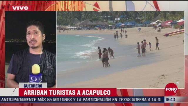 arriban turistas a acapulco por puente de dia de muertos