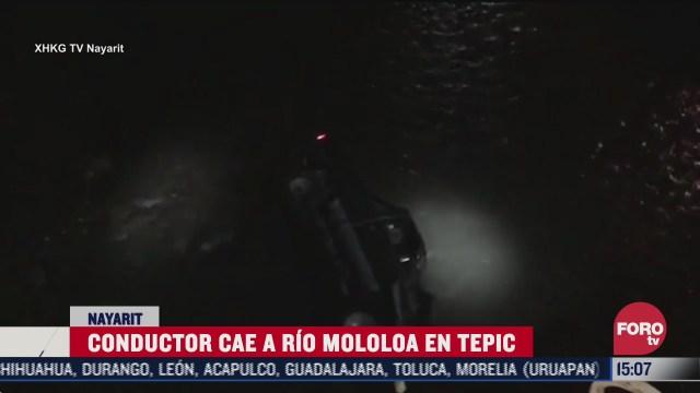 auto cae al rio molola en tepic