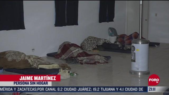 autoridades de chihuahua abren albergues ante heladas