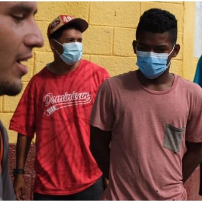 Migrantes acusan condiciones insalubres y precarias en campamento de Matamoros