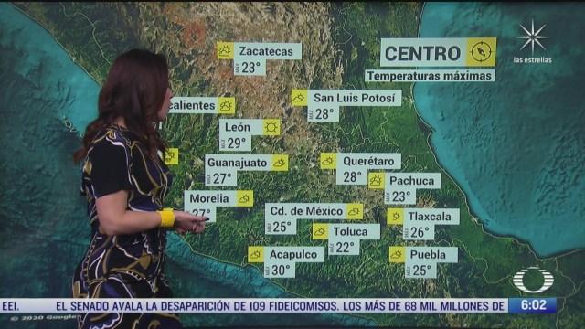 canal de baja presion provocara lluvias fuertes en el sureste de mexico