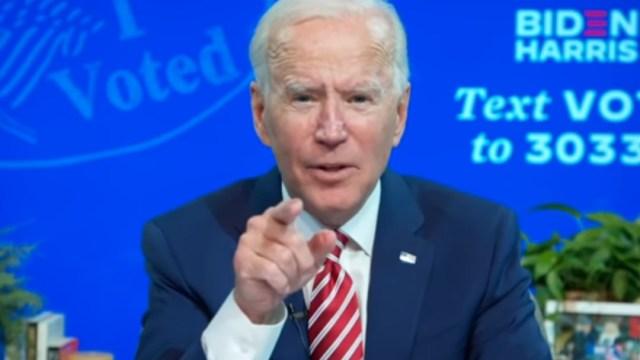 """Biden no admitió que habría un """"fraude electoral"""""""