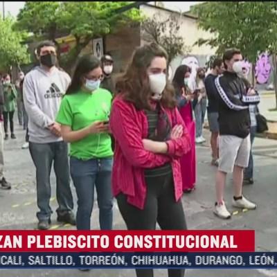 Chile vota plebiscito histórico