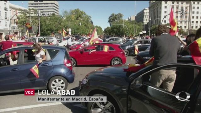 ciudadanos en europa protestan por medidas de confinamiento