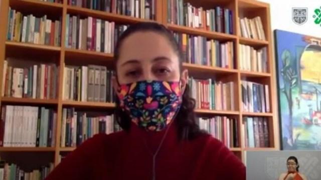 La jefa de gobierno de la Ciudad de México, Claudia Sheinbaum