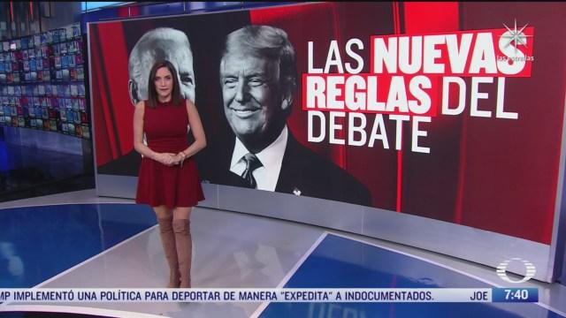 como sera el segundo debate entre donald trump y joe biden
