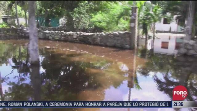 comunidades enteras en yucatan siguen afectadas tras paso de delta