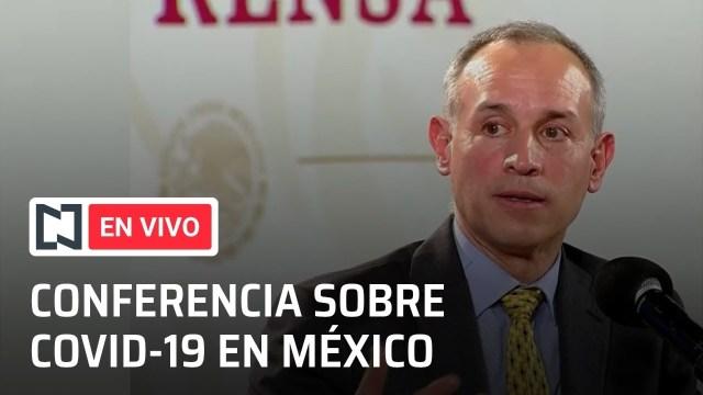 conferencia por el coronavirus en mexico del 20 de octubre de 2020