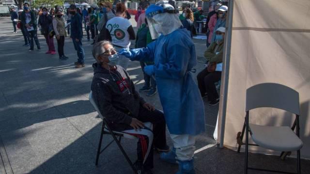La Secretaría de Salud informa que México llega a las 89 mil 171 muertes por coronavirus con 895 mil 326 casos confirmados