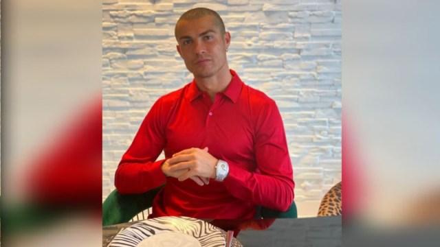 Cristiano Ronaldo es asintomático y se encuentra en aislamiento en su domicilio de Turín