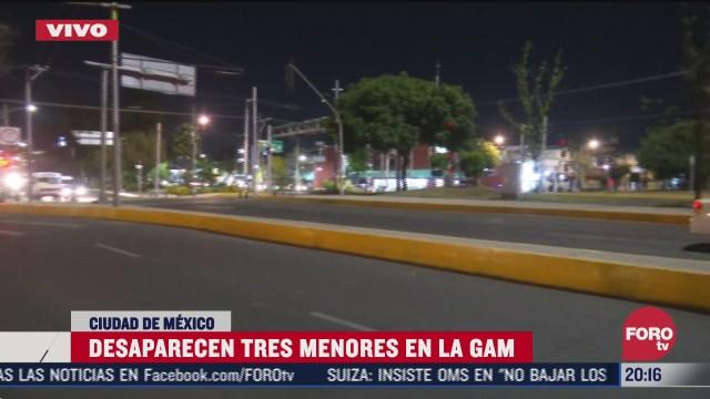 Tres menores de edad han desaparecido, en hechos distintos, en las últimas horas en la alcaldía Gustavo A. Madero