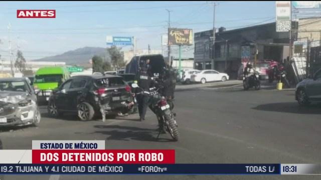 detienen a dos personas por robo de camioneta en cuautitlan izcalli