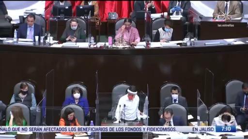diputados de oposicion cuestionan tema de fideicomisos