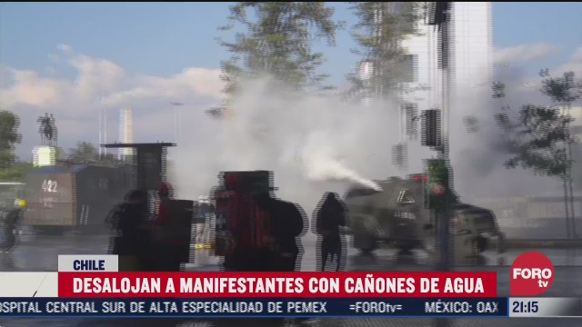 disturbios focalizados tras plebiscito historico en chile