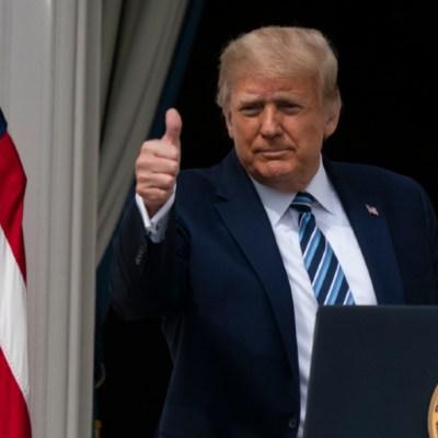 Trump asegura ser inmune al COVID-19