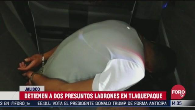 dos detenidos en jalisco por robo de telecomunicaciones