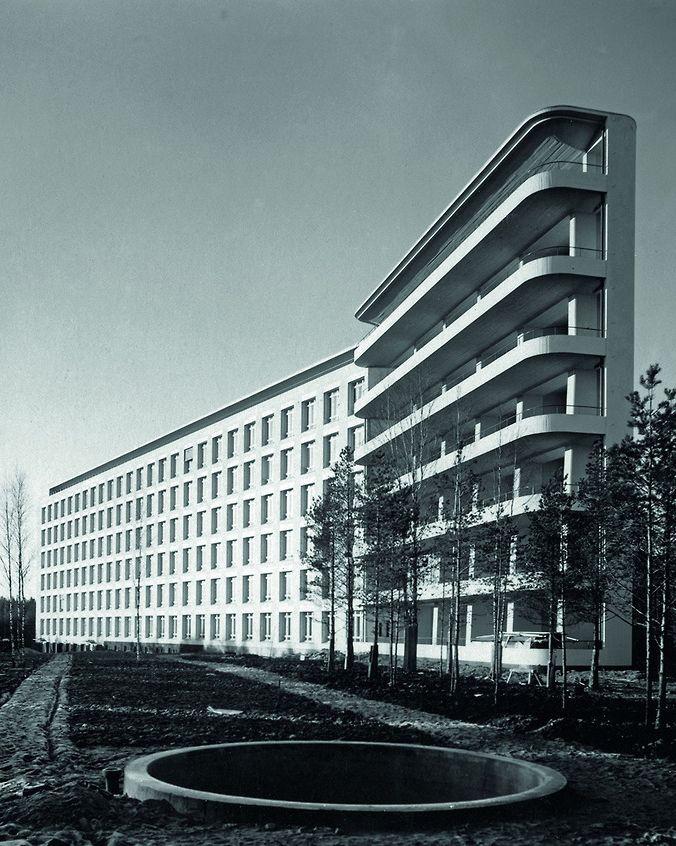 Sanatorios: arquitectura contra las pandemias