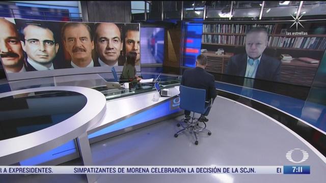 entrevista con arturo zaldivar ministro presidente de la scjn para despierta