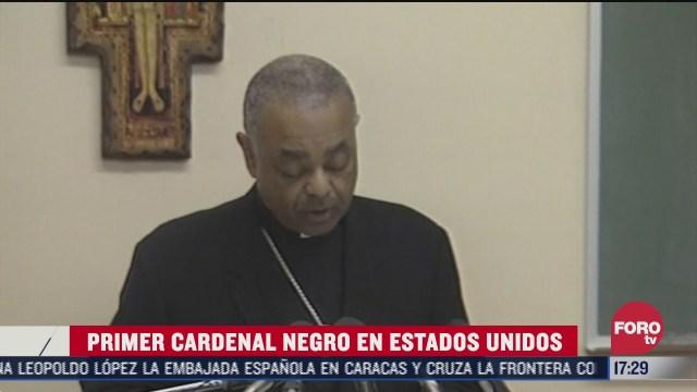 estados unidos logra primer cardenal negro