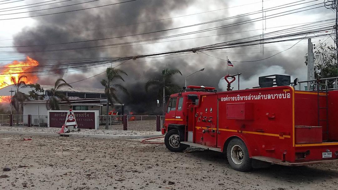 Explosión de tubería de gas en Tailandia deja al menos dos muertos y 30 heridos